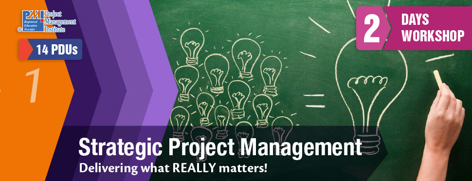 strategic project management Strategic project management bridges the gap between the lofty ambitions of strategists and staff that do the work strategy without projects is just another document.