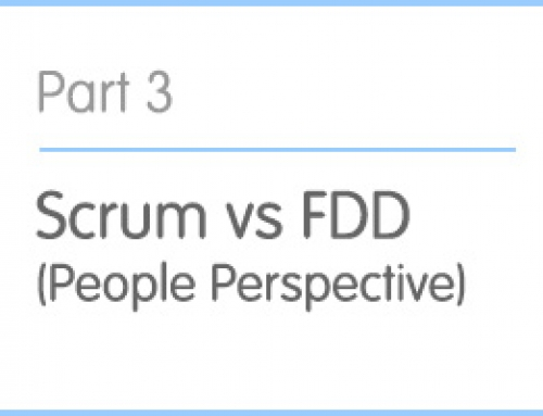 Part 3: Scrum vs FDD (People perspective)